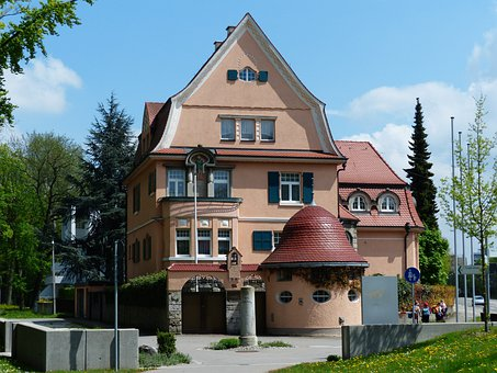 Villa, Manor House, Architecture, Building, Property