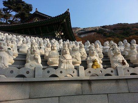Ganghwado, Seokmodo, Buseoksa Temple, Five Nahansang