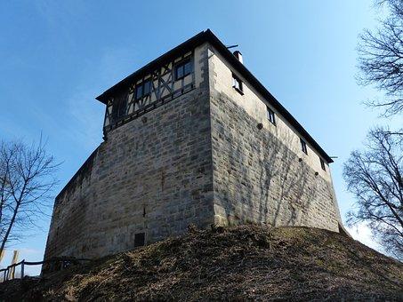 Castle Wäscherburg, Washer Lock, Castle, Scrubber Hof