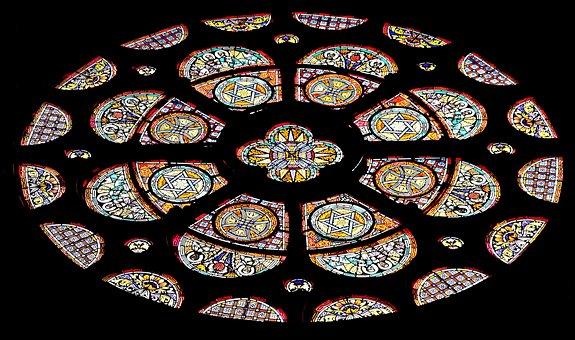 Church Window, Window, Church, Stained Glass, Glass
