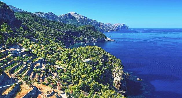Majorca, Coast, West Coast Of Majorca, Western Mallorca