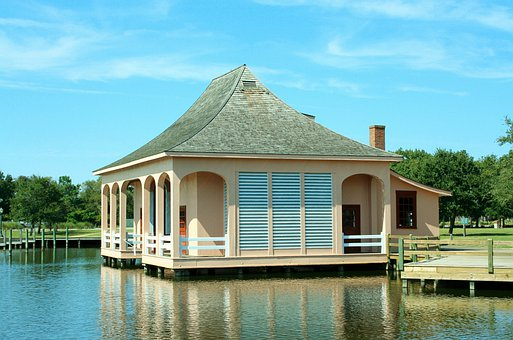Boathouse, Dock, Pier, Outer Banks, Currituck