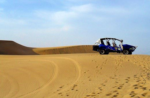 Boogie, Buggy, Truck, Dune, Sand, Desert