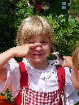 Girl, Dirndl, Bavarian, Oktoberfest, Costumes, Dress