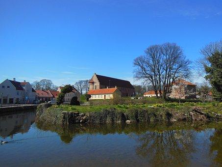 Castle Area, Castle, Medieval, Nyborg Castle, Funen