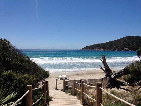 Beach, Summer, Ibiza, Spain, Sea, Holiday