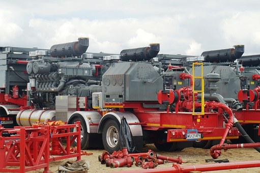 Hydraulic Fracturing, Pump Units, Shale Gas