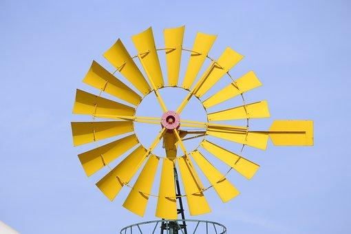 Windmill, Park-science-granada, Wind, Mill
