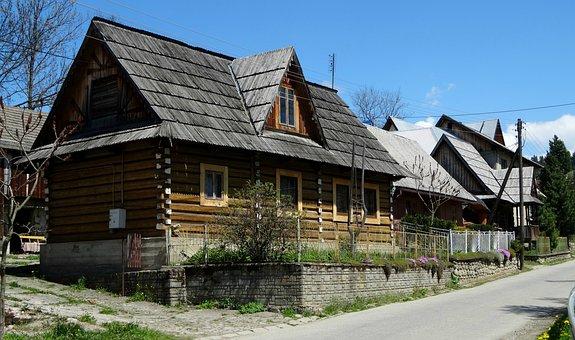 Jurgów, Poland, Architecture, Monument, Houses, History