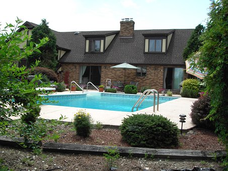 Villa, Dream Home, Pool, Manor House, Home, Real Estate
