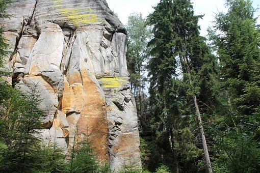 Adrspach, Rock City, Teplicke Skaly