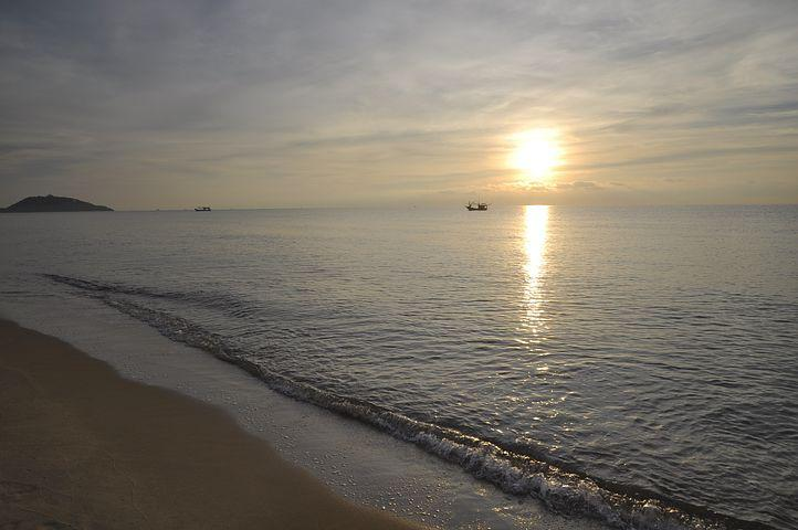 Sea, Tourism, A New Life, Hope, Pleasant, Horizon