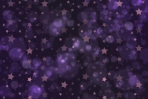 Bokeh, Background, Texture, Stars, Purple, Midnight