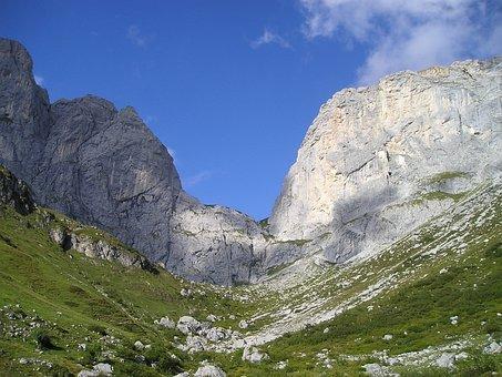 Swiss Corner, Kirchlispitzen, Rätikon, Switzerland