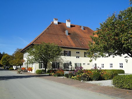 Horse Stud, Manor, Upper Bavaria