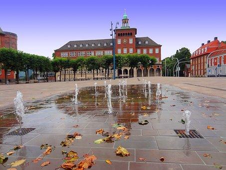 Water Games, Fountain, Bocholt, Benoelkenplatz, George