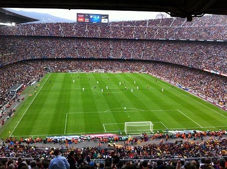 Estadio, Camp Nou, Barcelona, Fc Barcelona, Real Madrid