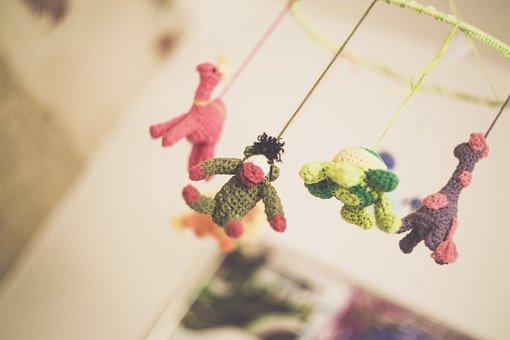 Child, Play, Miniature, Children, Toys, Cheerful, Happy