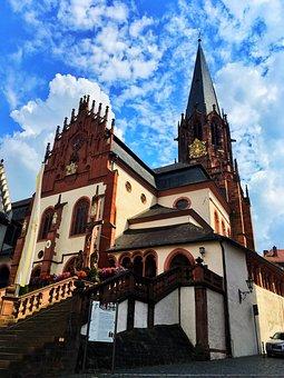 Germany, Church, Aschaffenburg