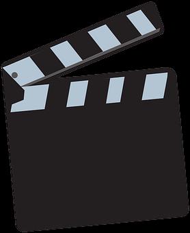 Clapperboard, Clapper-board, Film, Movie