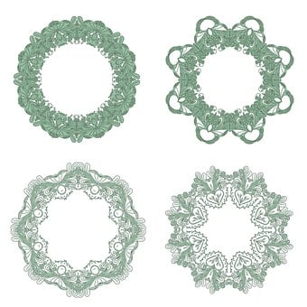 Frame, Edging, Victorian, Pattern, Ornament, Design