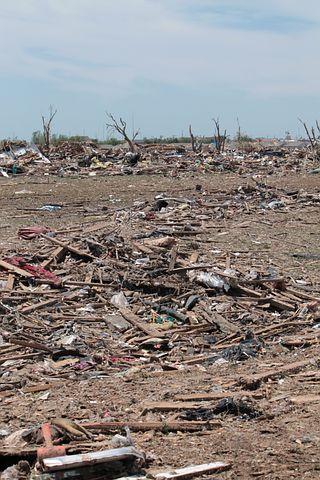 Tornado, Destruction, Moore, Oklahoma, Disaster, Ruin