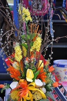 Dry, Flower, Bouquet, Still Life, Fantasy
