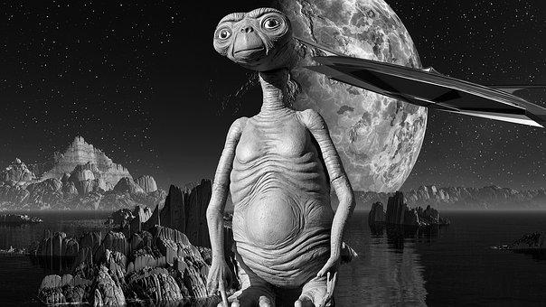 Et, Movie, Alien, Character, Creature, Extraterrestrial