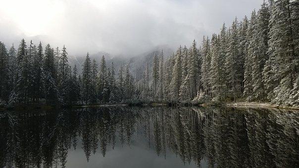 Glacial Lakes, Poland, Smreczyński Pond, Tatry