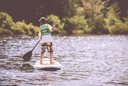 Boy, Child, Fun, Kid, Lake, Leisure, Life Vest