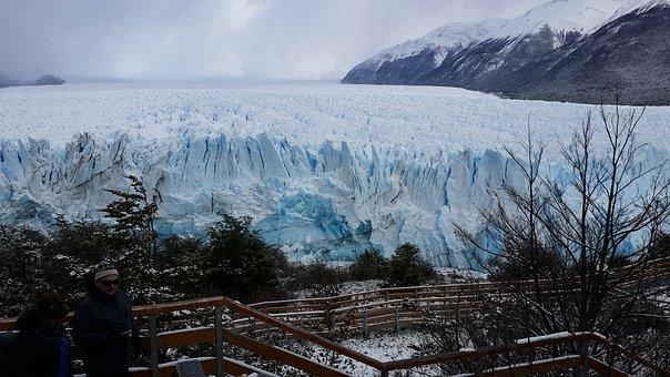 Calafate, Nature, Patagonia, Glacier, Snow, Mountain