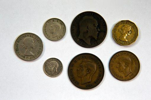 British Coinage, Obverse Faces, Pre-decimalisation