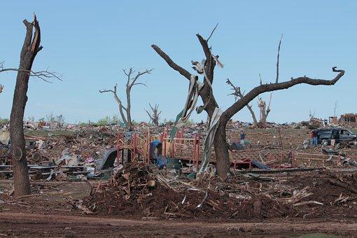 Tornado, Destruction, Moore, Oklahoma