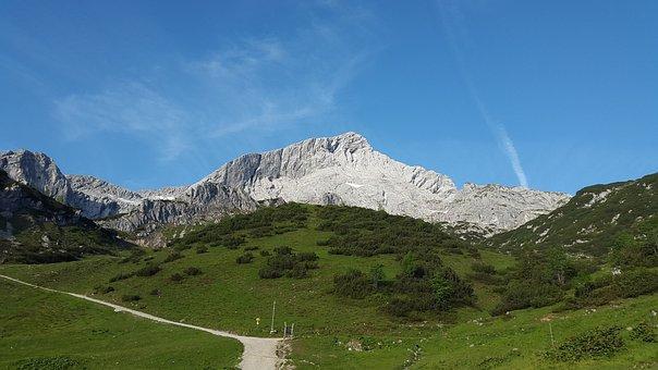 Alpspitze, North Wall, Alpine, Weather Stone, Mountain