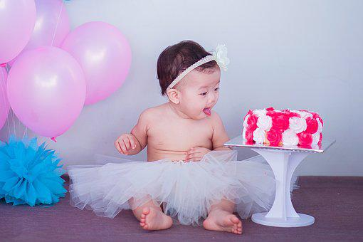Baby, Cake, Sweet, Child, Cute, Infant, Childhood