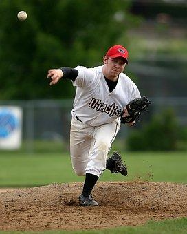 Baseball, Pitcher, Player, Ball, Sport, Athlete, Field
