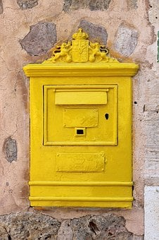 Mailbox, Metal, Post, Letter Boxes, Blacksmithing, Old