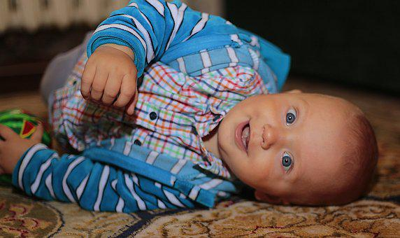 Son, Boy, Russia, Kid, Smile, Face, Person, Beautiful