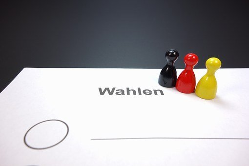 Ballot Paper, Choice, Elections, Germany, Select