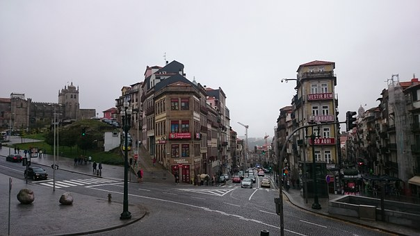 Portugal, Porto, Europe, City, Houses, Architecture