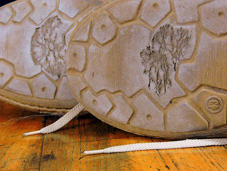 Worn, Consumed, Shoe, Sole, Old, Walk, Throw