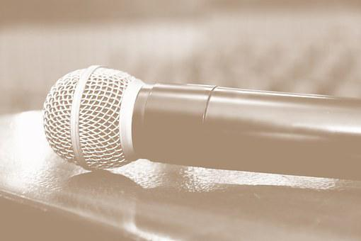 Microphone, Audio, Voice, Auditorium, Music, Corner