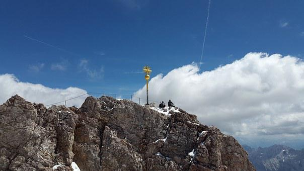Zugspitze, Summit Cross, Summit, Cross