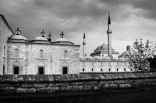 Edirne, Cami, Madrasah, Turkey, Architecture, Islam