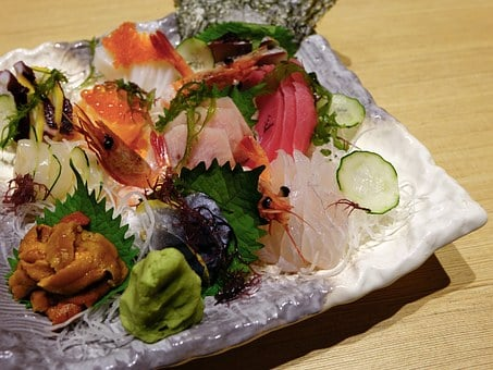 Sashimi, Salmon Fish, Food, Seafood, Japanese
