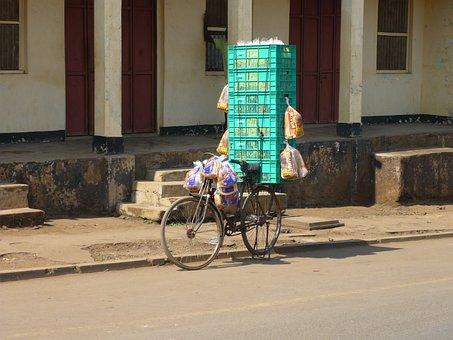 Bike, Overloaded, Purchasing, Funny, Toast, Africa