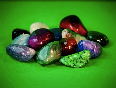 Gemstones, Semi Precious, Geology, Polished, Smooth