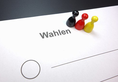 Choice, Elections, Germany, Ballot Paper, Select