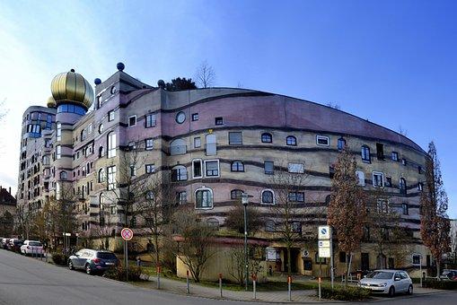 Darmstadt, Hesse, Germany, Forest Spiral