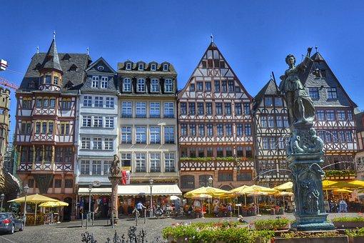 Frankfurt, Hesse, Germany, Römerberg